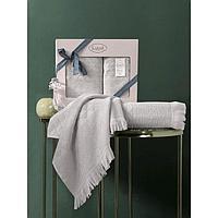 Комплект полотенец Monard 50x90 см, 70х140 см, цвет бежевый