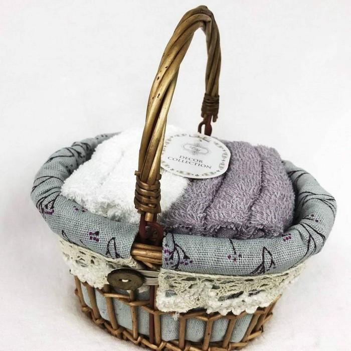 КМП «Виола», размер 30 × 30 см - 6 шт, фиолетовый