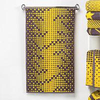 """Полотенце махровое """"Этель"""" Абстракция цвет жёлтый 50х90 см, 100% хл, 420 гр/м2"""