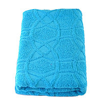 Полотенце, размер 50 × 100 см, цвет морская волна