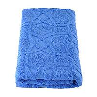 Полотенце, размер 50 × 100 см, цвет васильковый