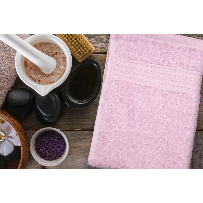 Полотенце ast clasic, размер  100 × 150 см,  розовый
