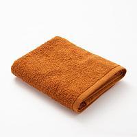 Полотенце махровое «Экономь и Я», 50х90 см, цвет молочный шоколад