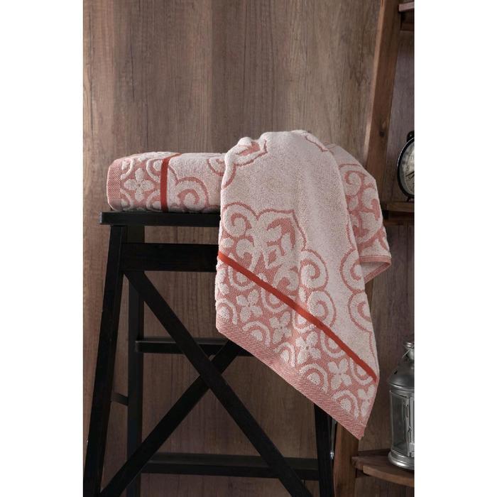 Полотенце Tunus 70x140 см, цвет кирпичный