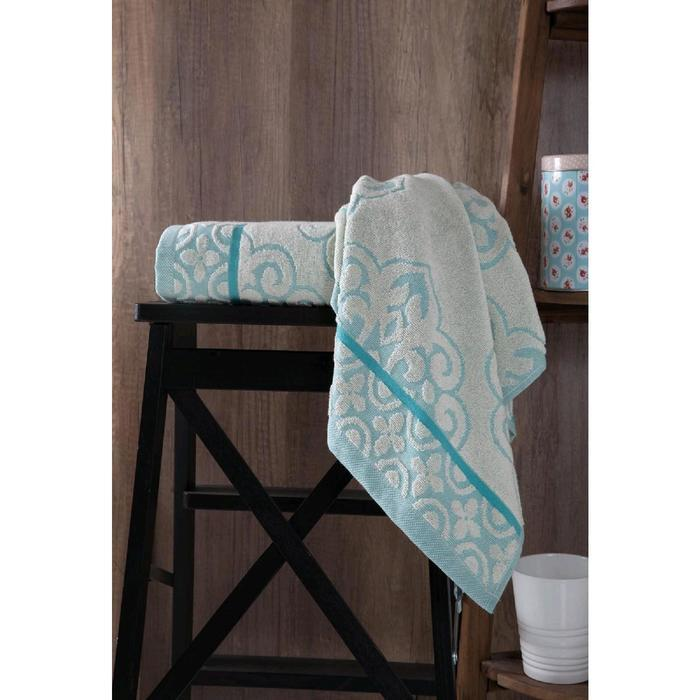 Полотенце Tunus 70x140 см, цвет бирюзовый