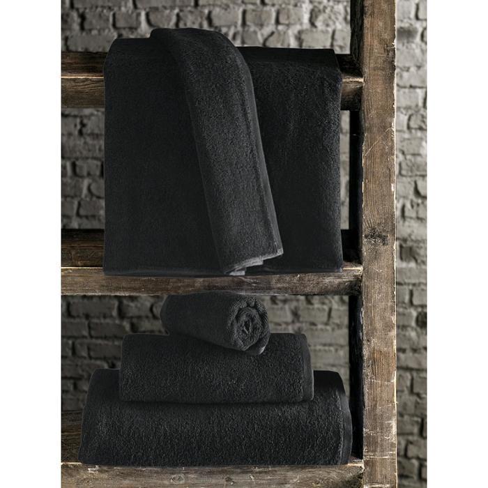 Полотенце Efor 70x140 см, цвет черный
