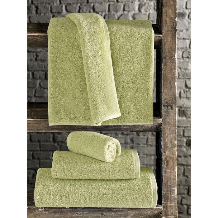 Полотенце Efor 70x140 см, цвет зелёный