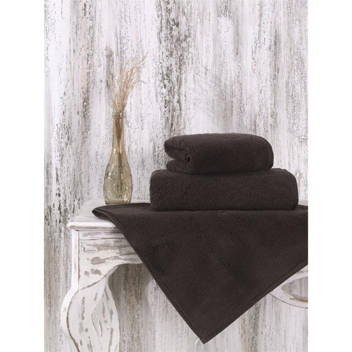 Полотенце Mora, размер 50 × 90 см, коричневый