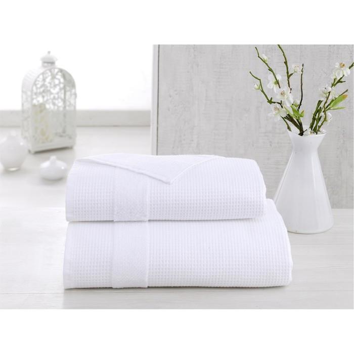 Полотенце Truva, размер 50 × 100 см, белый