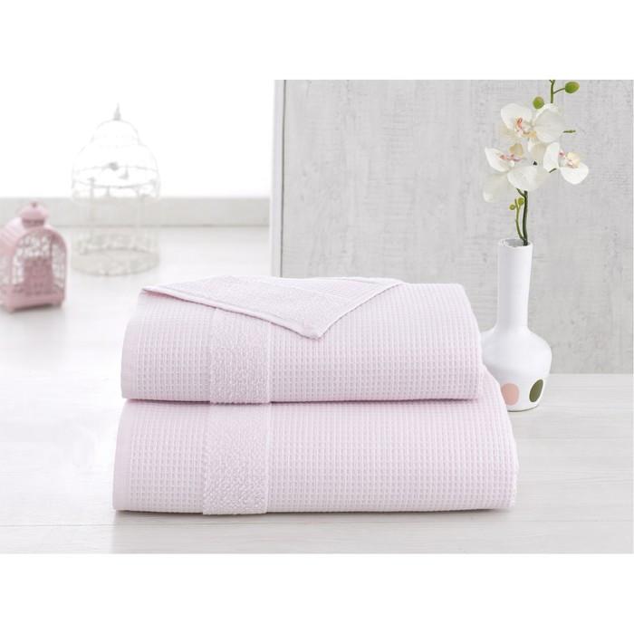 Полотенце Truva, размер 50 × 100 см, светло-розовый
