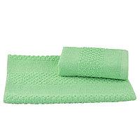 Полотенце махровое гладкокрашеное 40×70 см, 360 г/м2 мятный, 100% хлопок