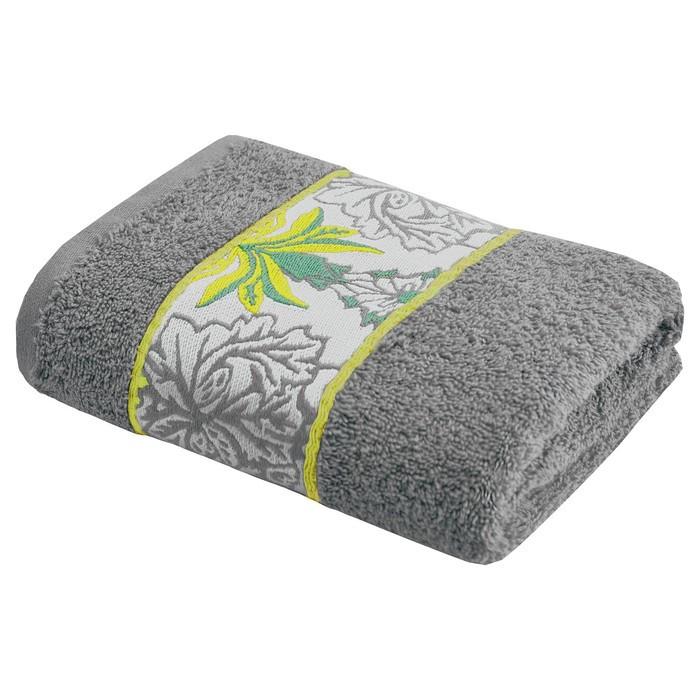 Полотенце Alice, размер 50 × 90 см, цвет серый