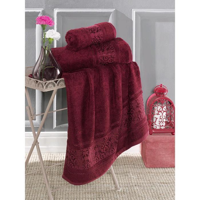 Полотенце Armond 50х90 см, цвет бордовый