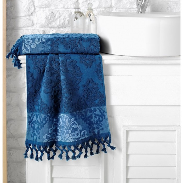 Полотенце Ottoman, размер 70 × 140 см, синий