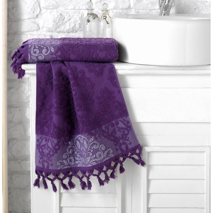 Полотенце Ottoman, размер 50 × 90 см, фиолетовый