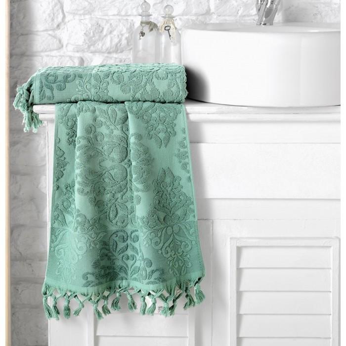Полотенце Ottoman, размер 70 × 140 см, зелёный