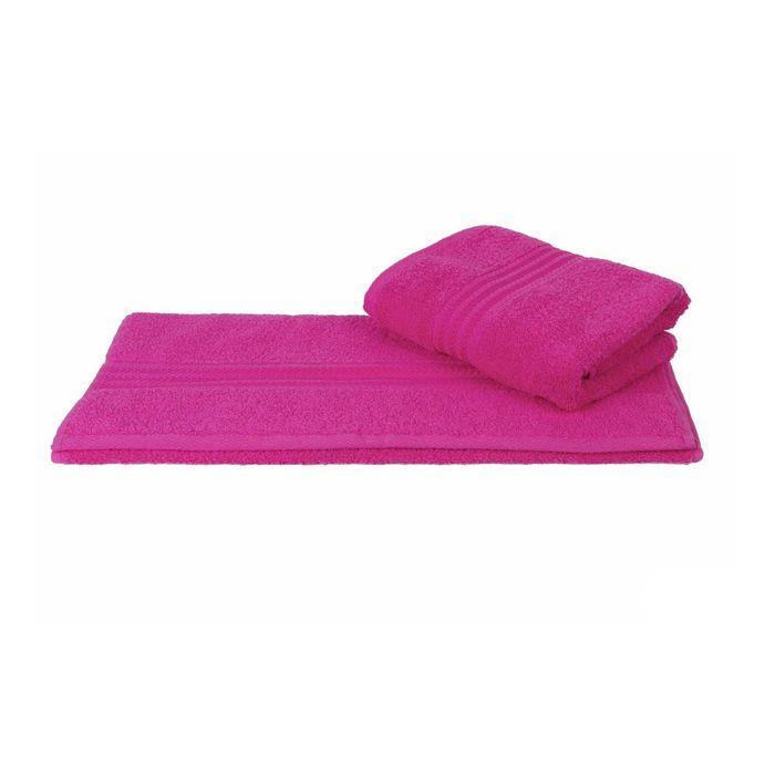 Полотенце Rainbow, размер 50 × 90 см, тёмно-розовый