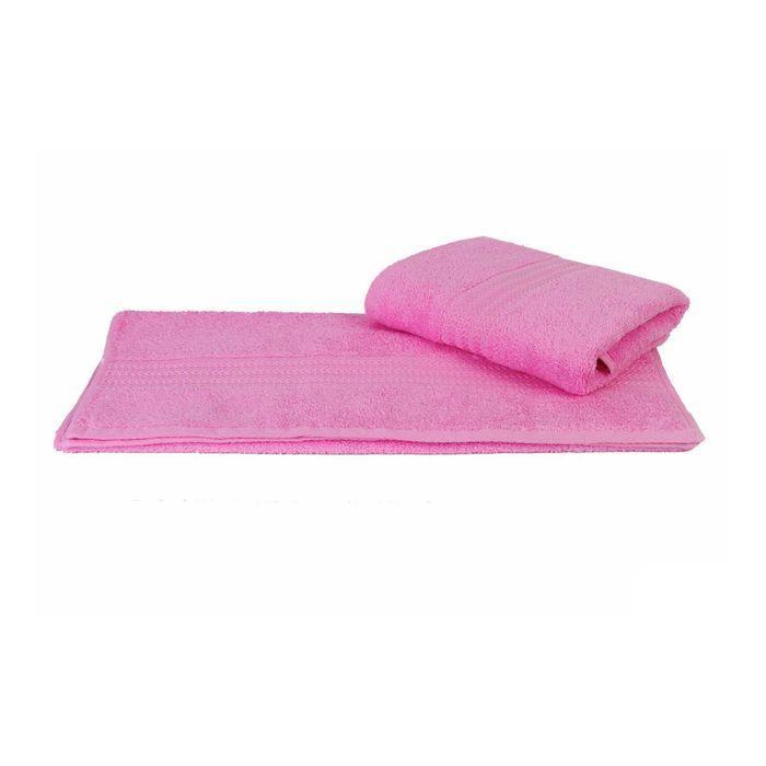 Полотенце Rainbow, размер 50 × 90 см, розовый