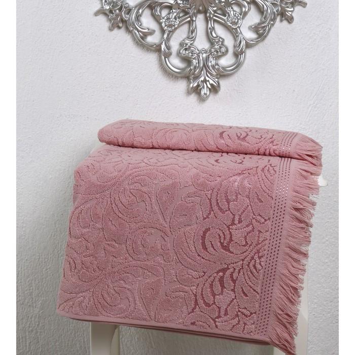 Полотенце Esra, размер 90 × 150 см, розовый