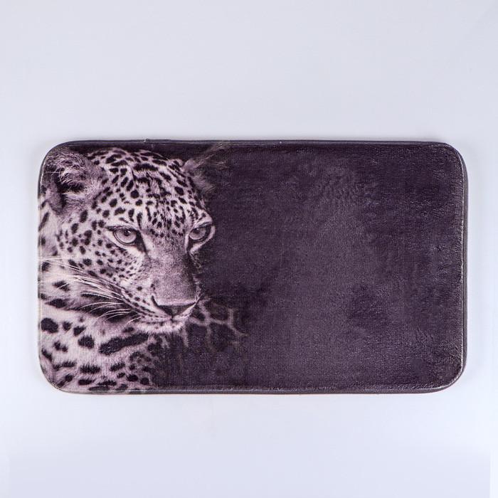 Коврик «Леопард», 45×75 см