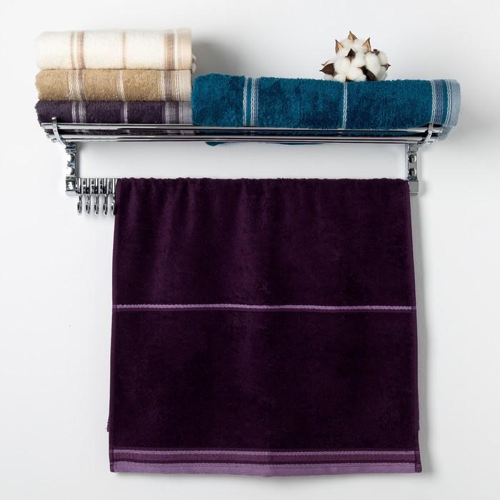Полотенце Premier «LAMONT» 50х90 см, цвет фиолетовый