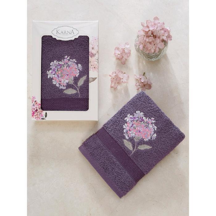 Полотенце в коробке Opak 50x90 см, цвет фиолетовый