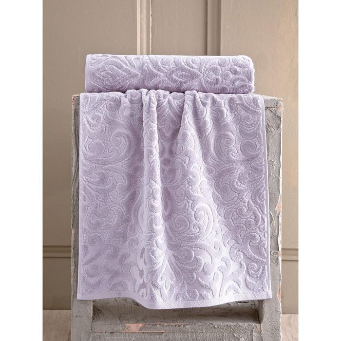 Полотенце Hazal, размер 50 × 90 см, грязно-розовый