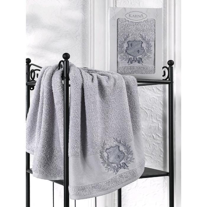 Полотенце в коробке Davis 50x90 см, цвет серый