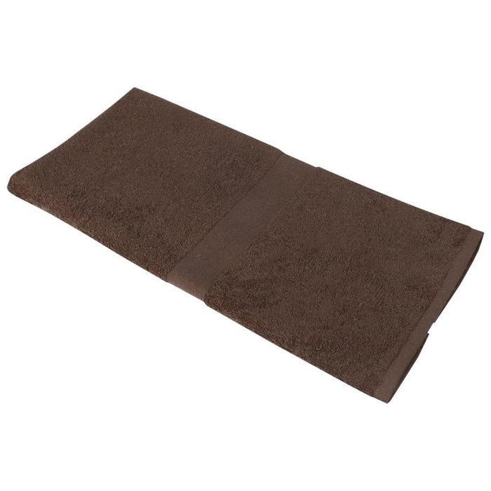 Полотенце Soft Me Medium, размер 50x100 см, цвет коричневый