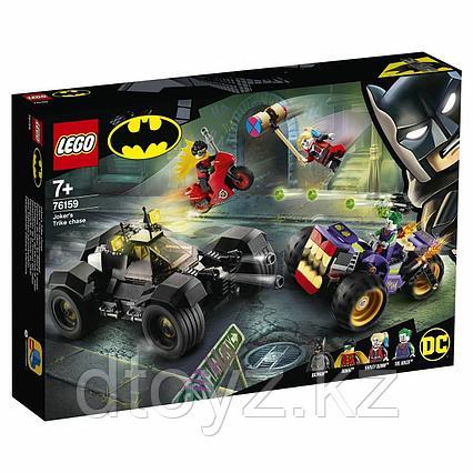 Lego DC Comics Super Heroes 76159 Побег Джокера на трицикле 76159