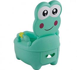 Детский горшок Pituso Лягушонок зеленый