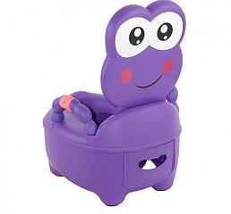 Детский горшок Pituso Лягушонок фиолетовый