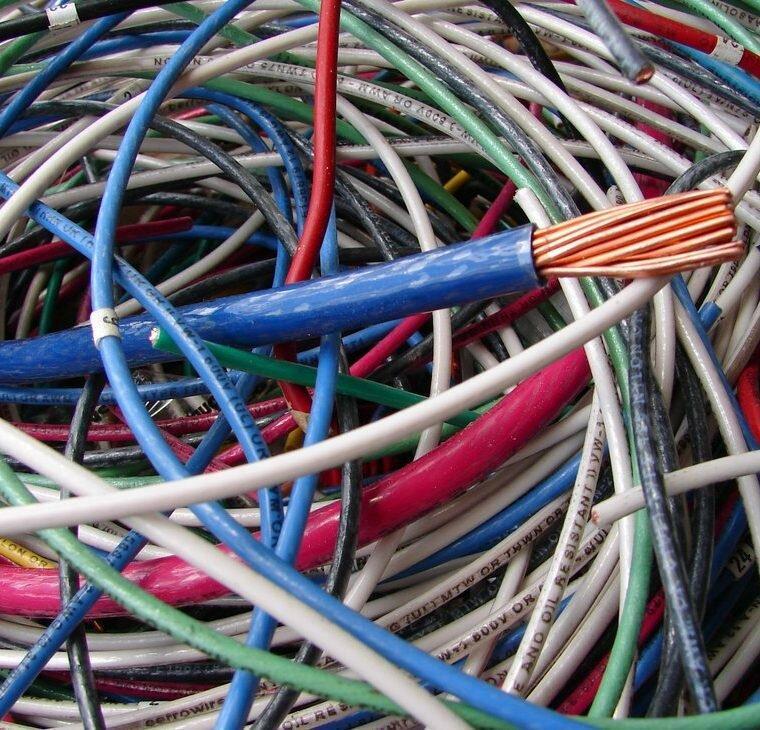 Прием алюминиевого кабеля