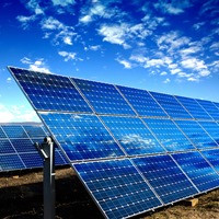 Автономная солнечная электростанция на 40 кВт/час