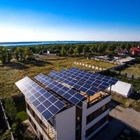 Сетевая солнечная электростанция на 3 кВт/час