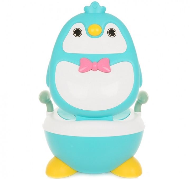 Детский горшок Pituso Пингвинёнок Голубой