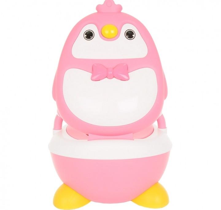 Детский горшок Pituso Пингвинёнок Розовый