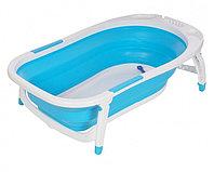 Детская ванна складная Pituso 85 см голубая