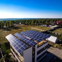 Сетевая солнечная электростанция на 5 кВт/час