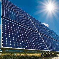 Сетевая солнечная электростанция на 100 кВт/час