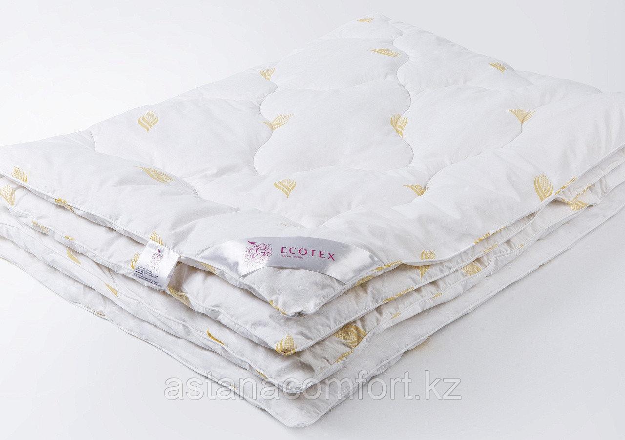 """Одеяло """"Кукуруза, демисезоннкое, евро-размер 220*200 см.Тик. Россия."""
