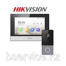 Комплект IP WiFi видеодомофона Hikvision