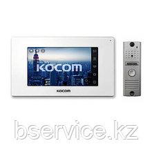Комплект видеодомофона KOCOM KCV-544SD