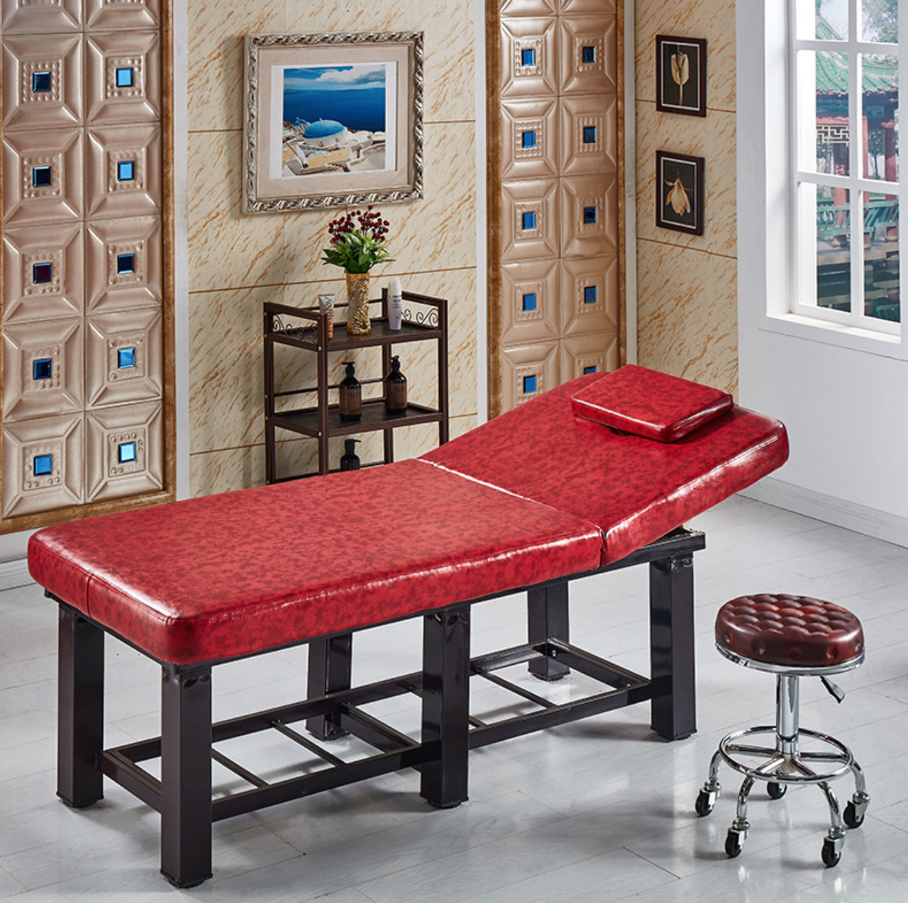 Кушетка - стол для косметолога / массажиста. Люкс - фото 1