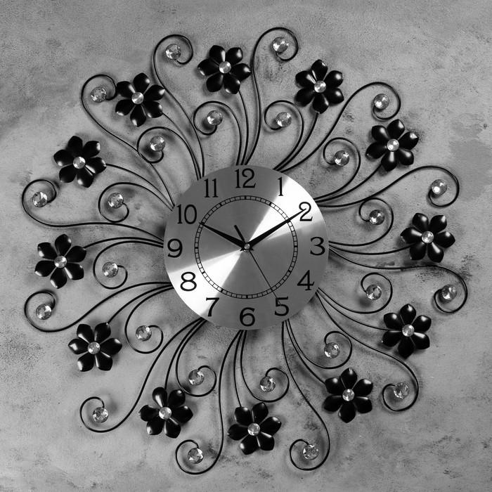 """Часы настенные, серия: Ажур, """"Оберурзель""""  d=60 см, d=22 см, 1 АА, плавный ход"""