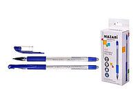 Ручка стирающаяся Mazari M-7309-70 Edit шариковая синяя