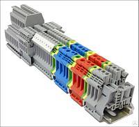 Блок перемычек на 2-конт., 2.5 мм2 (уп. 10 шт) MTU-J225