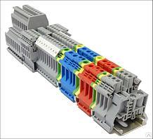 Блок перемычек для трехуровневых клемм на 10-контактов, 2.5 мм2 MTU-J10S