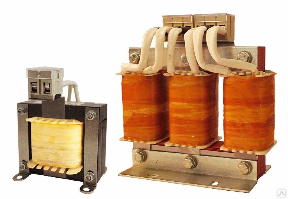 Реактор моторный однофазный номинальный ток 4 А, исполнение «А» РМО-004-А