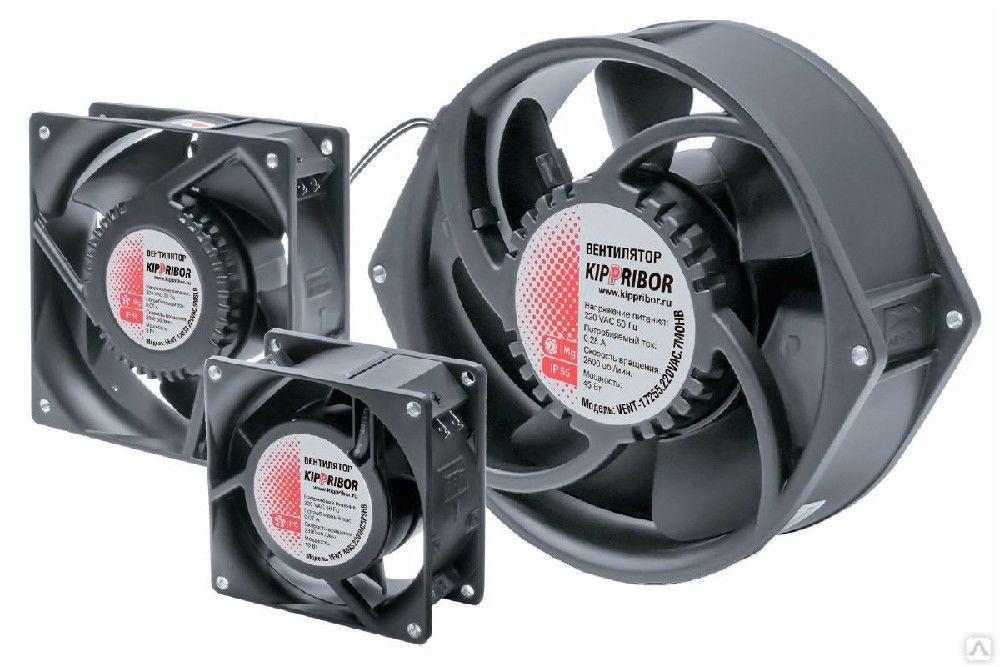 Вентилятор для радиатора охлаждения ТТР VENT-8025.220VAC.7MSHB